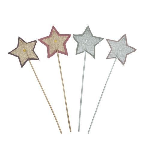 Glitter Star Wands by Numero 74 | Wild & Whimsical Things www.wildandwhimsicalthings.com.au