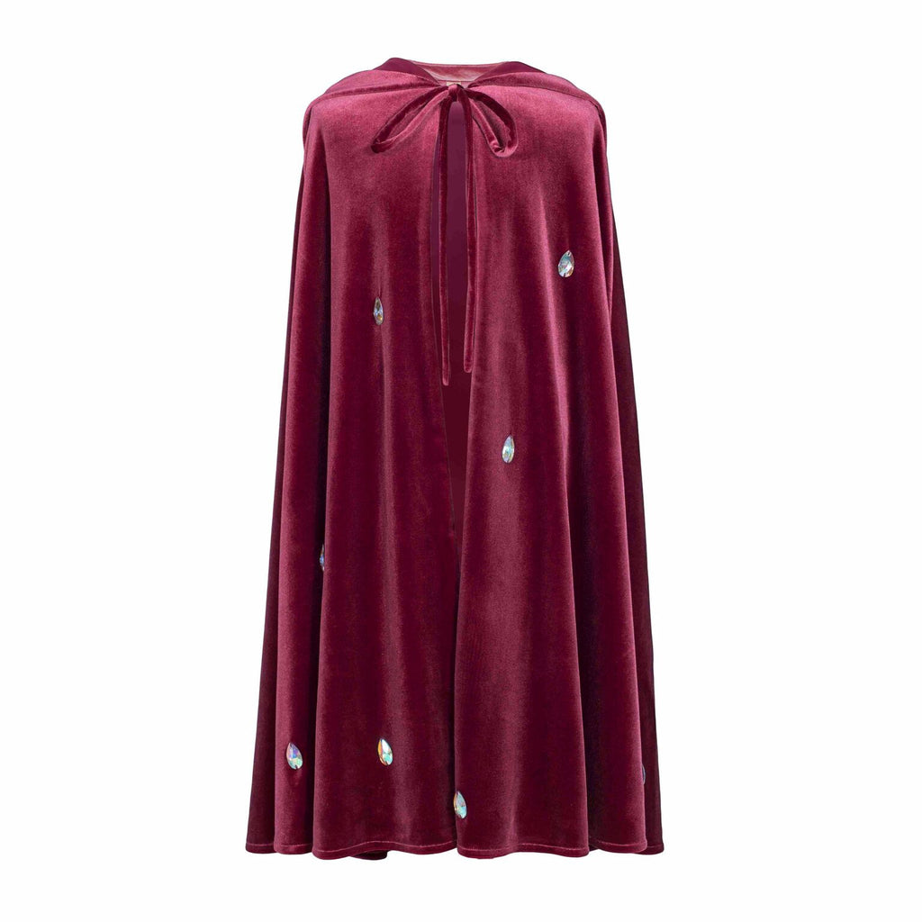 Velvet Red Macaron Leia Cape by Numero 74 | Wild & Whimsical Things www.wildandwhimsicalthings.com.au