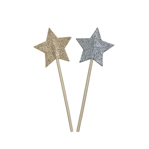 Mini Glitter Start Wands by Numero 74 | Wild & Whimsical Things www.wildandwhimsicalthings.com.au
