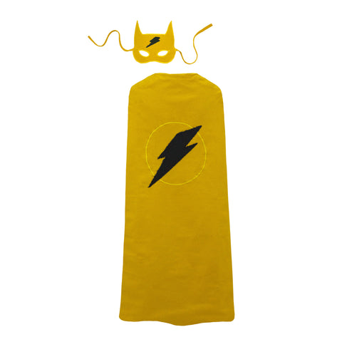 Superhero costume in sunflower yellow by Numero 74 | Wild & Whimsical Things www.wildandwhimsicalthings.com.au