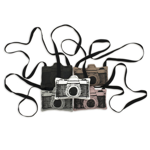 Soft toy cameras by Numero 74 | Wild & Whimsical Things www.wildandwhimsicalthings.com.au