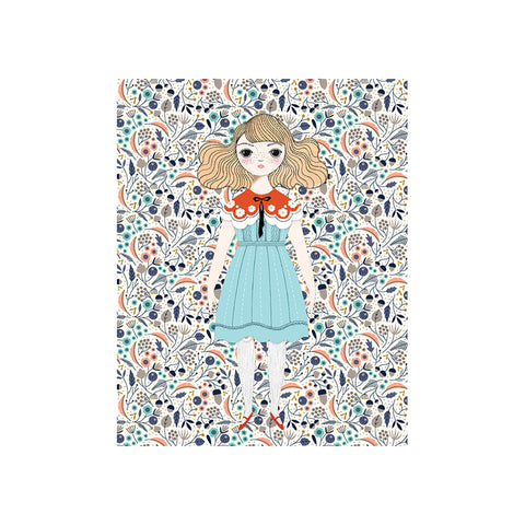Magnolia Paper Doll Kit by Of Unusual Kind | Wild & Whimsical Things www.wildandwhimsicalthings.com.au