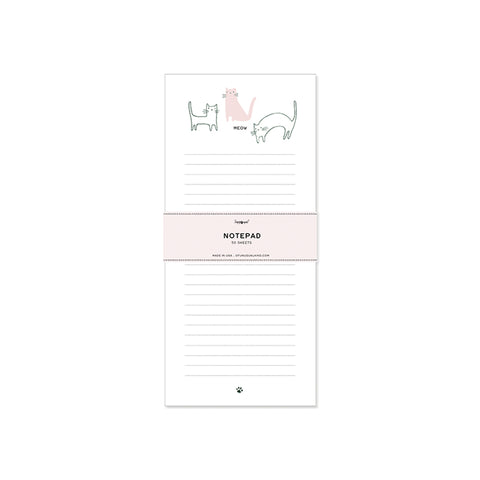 Of Unusual Kind Meow Notepad