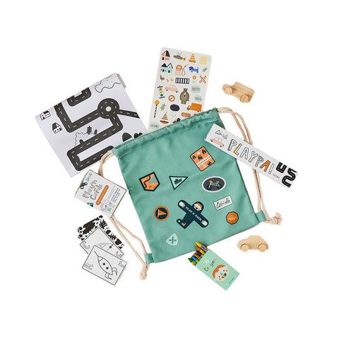 City Pack'n Play Backpack by Olli Ella | Wild & Whimsical Things www.wildandwhimsicalthings.com.au