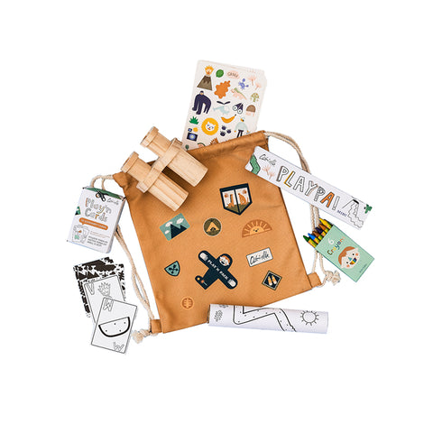 Jungle Pack'n Play Backpack by Olli Ella | Wild & Whimsical Things www.wildandwhimsicalthings.com.au