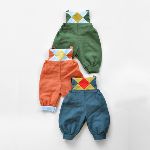Patchwork Overalls by Polka Dot Club | Wild & Whimsical Things www.wildandwhimsicalthings.com.au