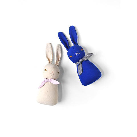 Little Rabbit Rattle by Polka Dot Club | Wild & Whimsical Things www.wildandwhimsicalthings.com.au