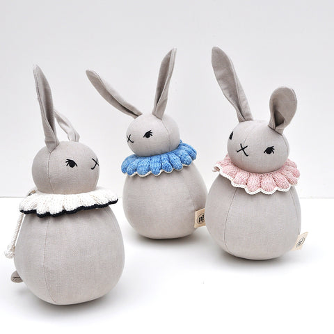 Roly-Poly Rabbits by Polka Dot Club and Misha and Puff Collaboration SS17 | Wild & Whimsical Things www.wildandwhimsicalthings.com.au