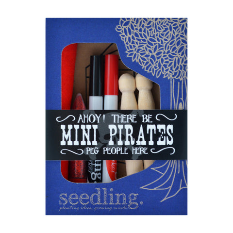 Mini Pirates by Seedling | Wild & Whimsical Things www.wildandwhimsicalthings.com.au