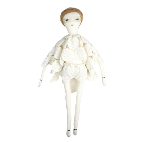 She-Roe Créme Ivory doll by Dumye | Wild and Whimsical Things www.wildandwhimsicalthings.com.au
