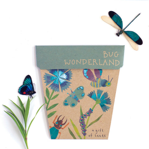 Bug Wonderland Gift of Seeds pack by Sow 'n Sow || Wild & Whimsical Things www.wildandwhimsicalthings.com.au