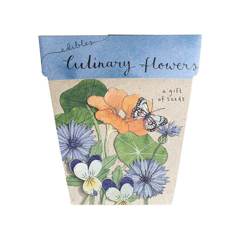 Edible Culinary Flowers by Sow 'n Sow | Wild & Whimsical Things www.wildandwhimsicalthings.com.au