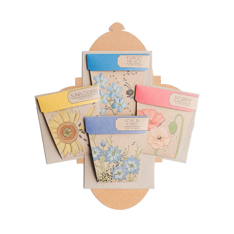 Flower Seed Gift Set by Sow 'n Sow | Wild & Whimsical Things www.wildandwhimsicalthings.com.au