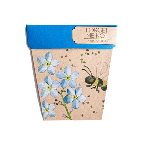 Forget Me Not Gift of Seeds pack by Sow 'n Sow || Wild & Whimsical Things www.wildandwhimsicalthings.com.au