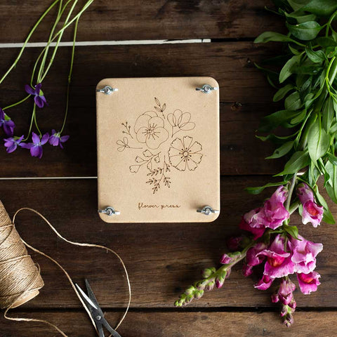 Posy Mini Flower Press by Sow 'n Sow | Wild & Whimsical Things www.wildandwhimsicalthings.com.au