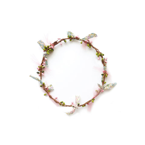 Flower Garland - Pink by Woodstock | Wild & Whimsical Things www.wildandwhimsicalthings.com.au