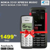 Nokia 5310 XpressMusic With One Nokia 1100 Free