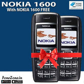 Nokia 1600 With One Nokia 1600 Free