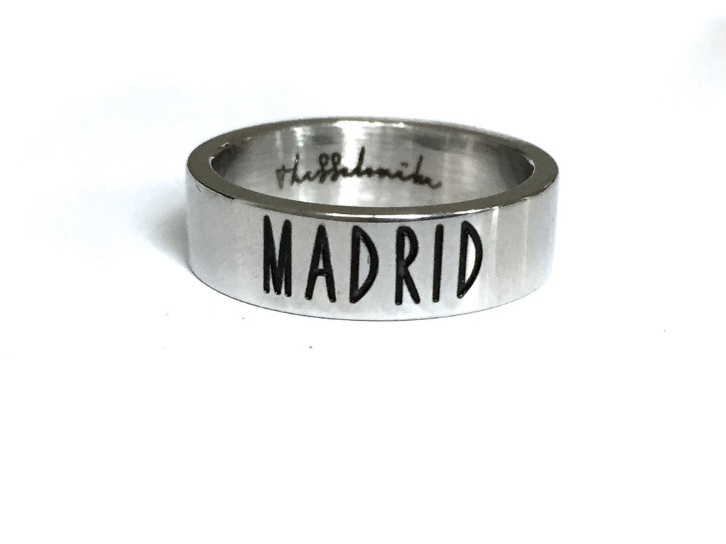 Travel Ring Madrid wanderlust, keiko, keiko conservation, wandering, travel, = - Thessalonike