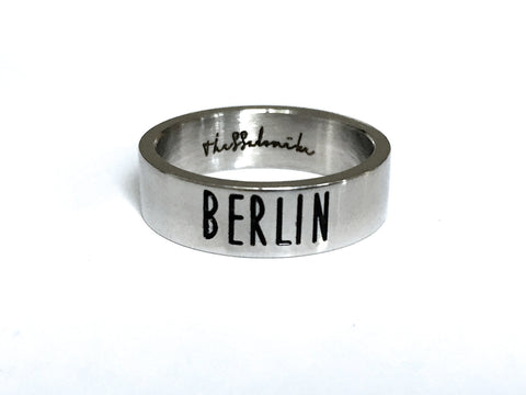 Travel Ring Berlin wanderlust, keiko, keiko conservation, wandering, travel, = - Thessalonike