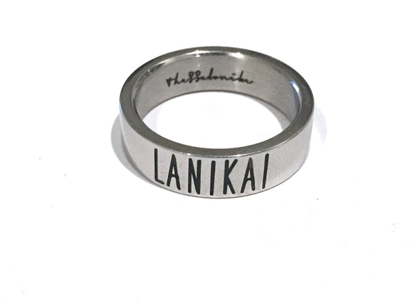 Travel Ring Lanikai wanderlust, keiko, keiko conservation, wandering, travel, = - Thessalonike