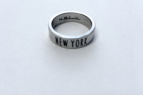Travel Ring New York wanderlust, keiko, keiko conservation, wandering, travel, = - Thessalonike