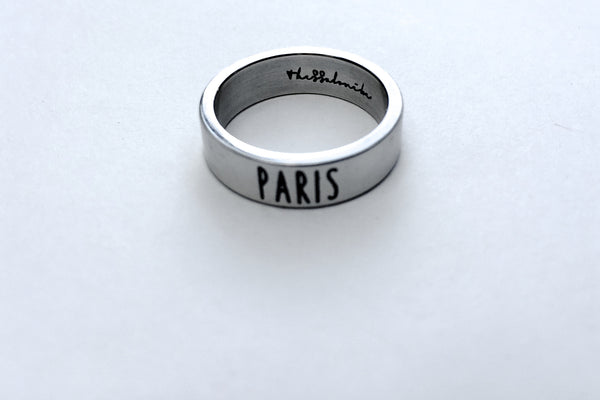 Travel Ring Paris wanderlust, keiko, keiko conservation, wandering, travel, = - Thessalonike