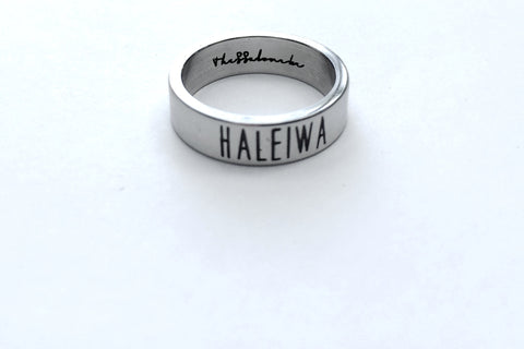 Travel Ring Haleiwa wanderlust, keiko, keiko conservation, wandering, travel, = - Thessalonike