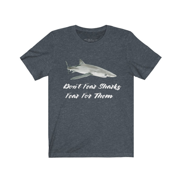 Keiko Collaboration Fear For Sharks Unisex Tee wanderlust, keiko, keiko conservation, wandering, travel, = - Thessalonike