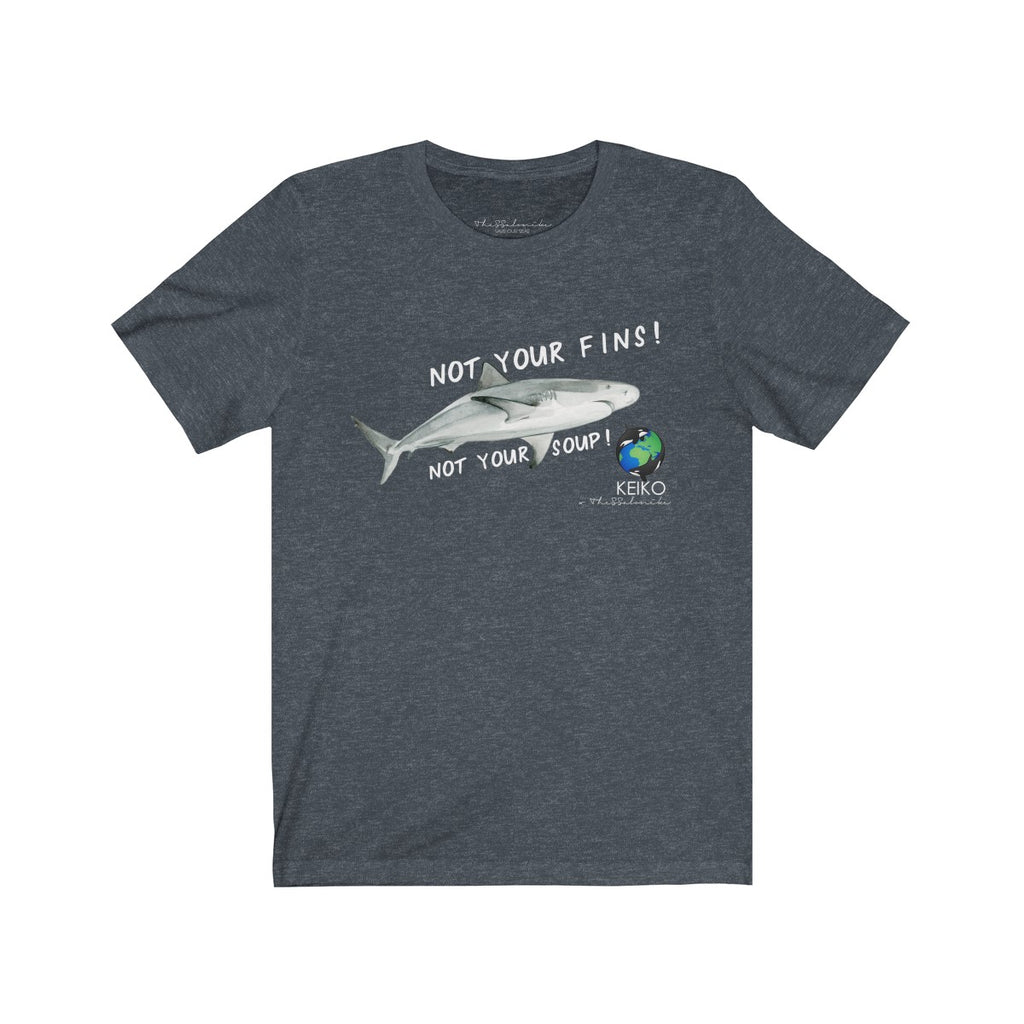 Not Your Fins Unisex Tee wanderlust, keiko, keiko conservation, wandering, travel, = - Thessalonike