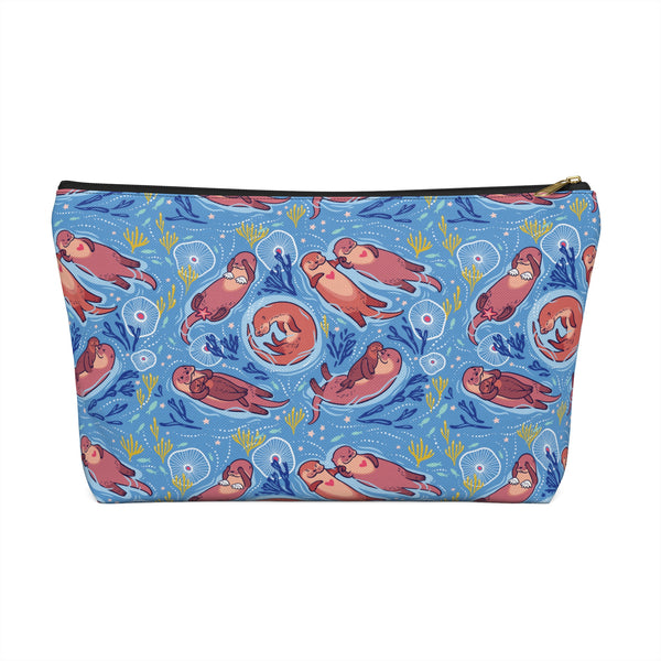Sea Otter Pouch Clutch wanderlust, keiko, keiko conservation, wandering, travel, = - Thessalonike