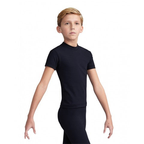 Capezio Boys Fitted Crew Neck Shirt 10358B