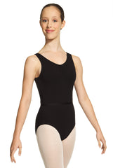 1633L Mondor Ladies Pinch Front Leotard