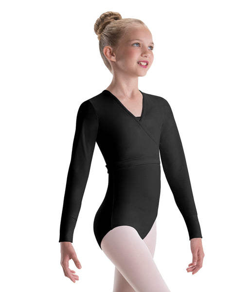 Motionwear Pullover Wrap Jacket Counterpointe 3380 GIRLS