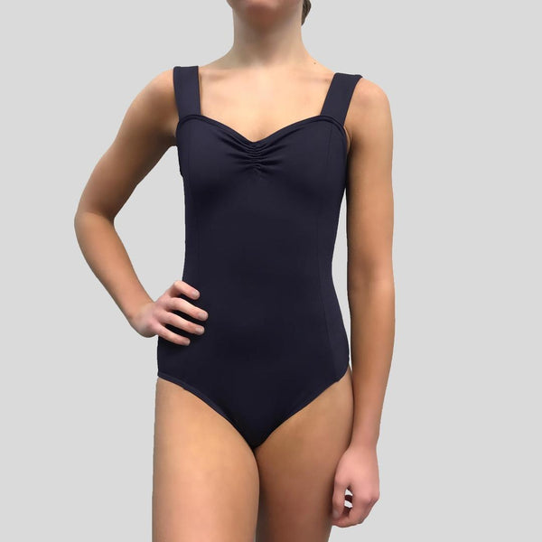 Mondor Girls Pinch Front Wide Strap Leotard 3505G Matrix