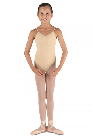 Bloch Girls Foundation Nude Bodysuit Leotard CL3167