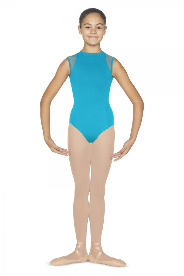 CL5575 Bloch Bella Zipper Back Leotard Bodysuit