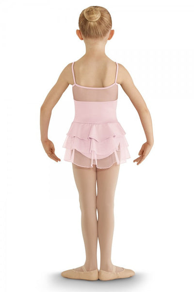 Bloch Children's Fashion Layered Skirted Leotard CL8207