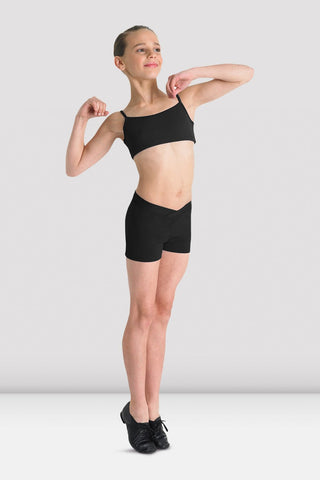 Bloch Girls Matea V Front Shorts CR2704