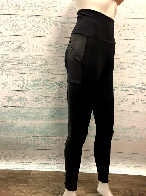 Motionwear Roll Top Pocket Leggings 7161