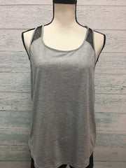Bloch Ladies Mesh Panel Racer Back Tank Top FT5021