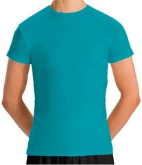 Motionwear Boy's Cap Sleeve Fitted T-Shirt 7207B