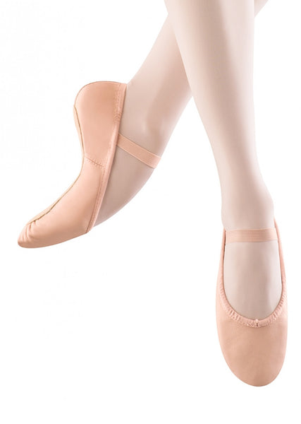 S0205G Bloch Girls Dansoft Ballet Shoe PINK