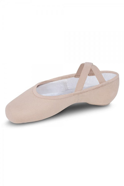 S0284G Bloch Girls Performa Canvas Ballet Shoes