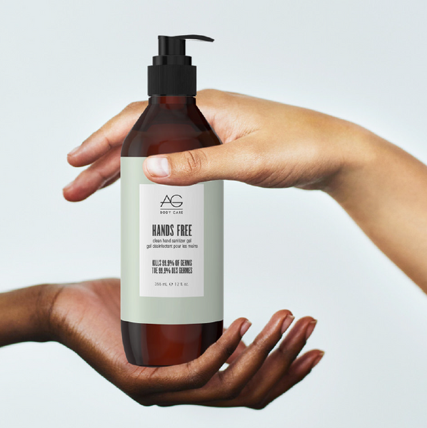 AG Hands Free Clean Hand Sanitizing Gel