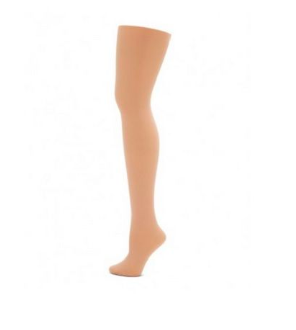 Capezio (2-6) Girls Ultra-Soft Footed Tight 1915X