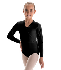 Motionwear Girls Wrap Sweater 3109G