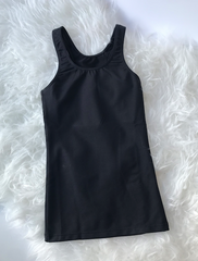 3609 Children's Racerback Tank Top Dri-line Black