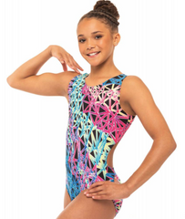 Motionwear Gym All Around Dye Sublimation Leotard GIRLS 1783