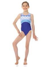 17810 Mondor Printed Leotard Gymnastics